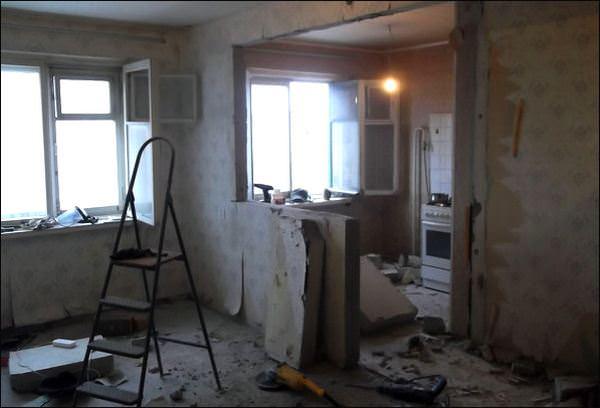 На что стоит обратить внимание при ремонте в Хрущевке