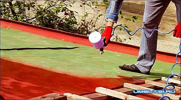 Как покрасить крышу дома
