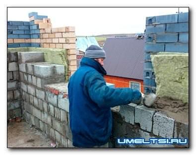 Строим сами из керамзитобетонных блоков