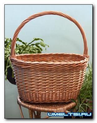 Плетение корзин из лозы для начинающих, пошагово