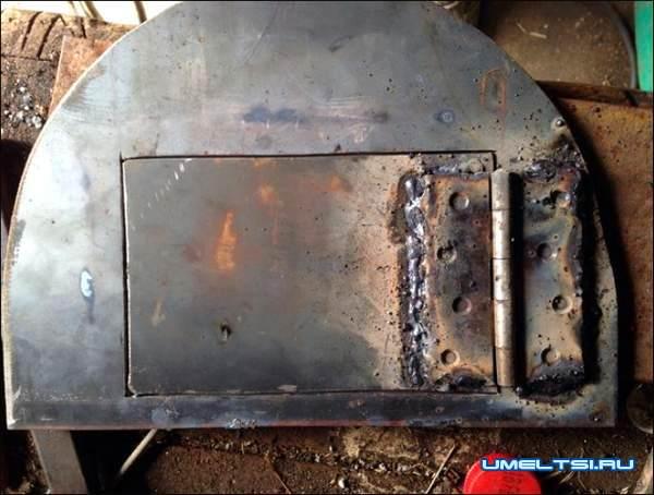 Печь с варочной плитой из газового баллона мастер класс фото 5