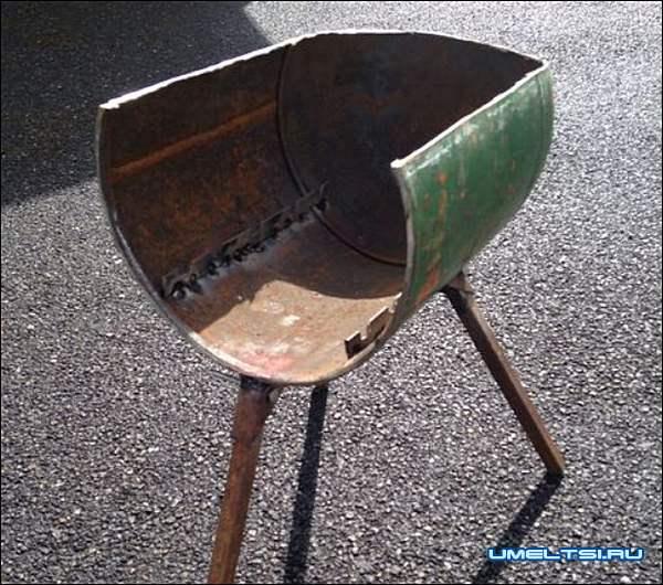 Печь с варочной плитой из газового баллона мастер класс фото 10
