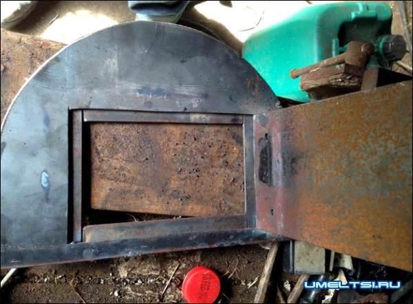 Печь с варочной плитой из газового баллона мастер класс фото 6