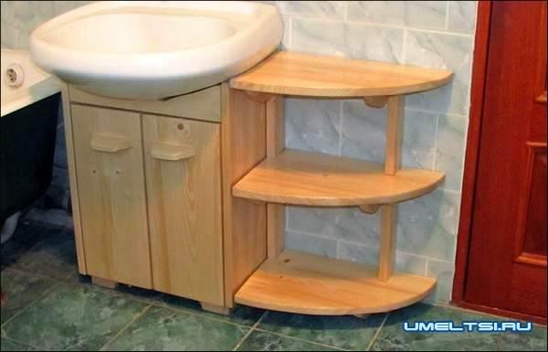 Мебель для ванной комнаты своими руками
