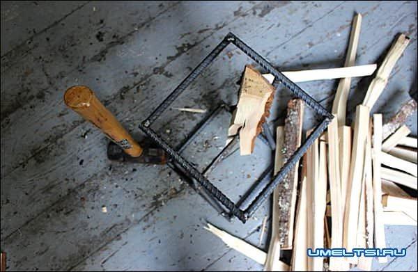 колун для дров своими руками изготовление фото 12