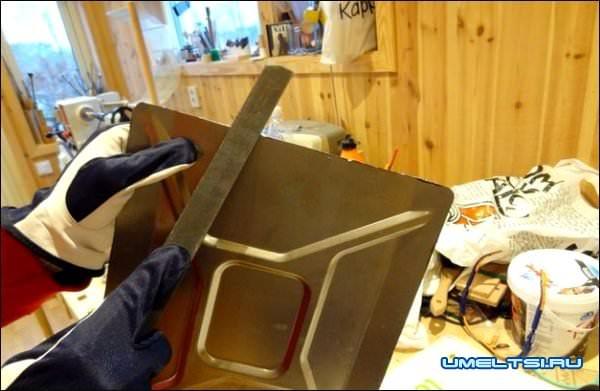 изготовления мини-бара из канистры фото 9