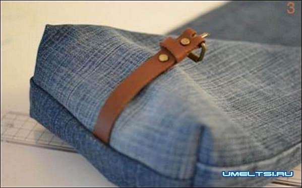 сумки из джинса