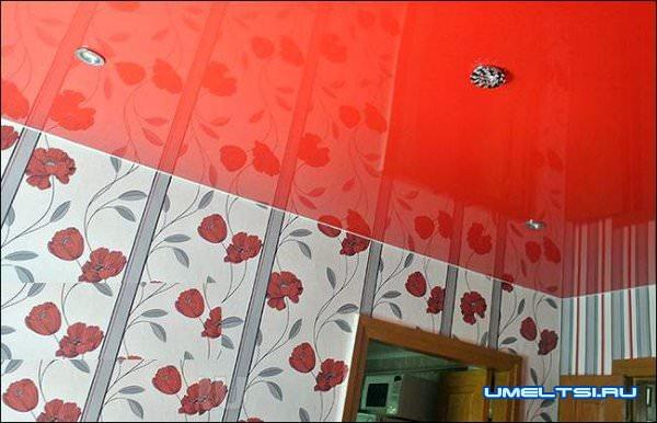 натяжной потолок своими руками фото-14