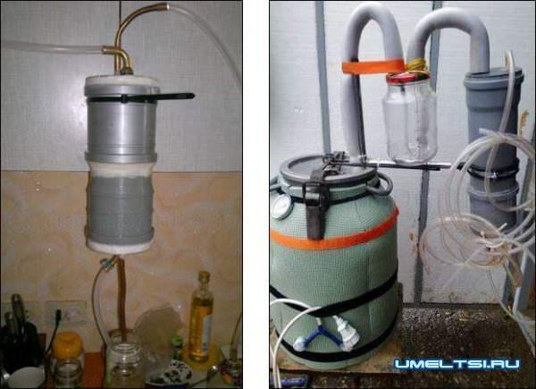 Примеры изготовления холодильника для самогонного аппарата фото 2