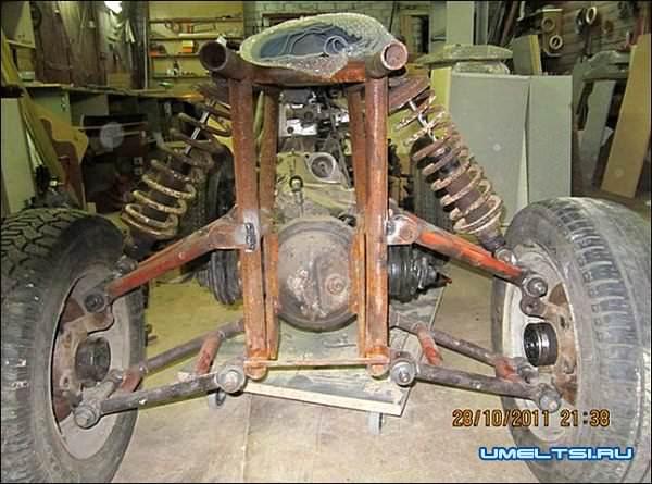 Квадроцикл своими руками 4х4 сборка фото 4