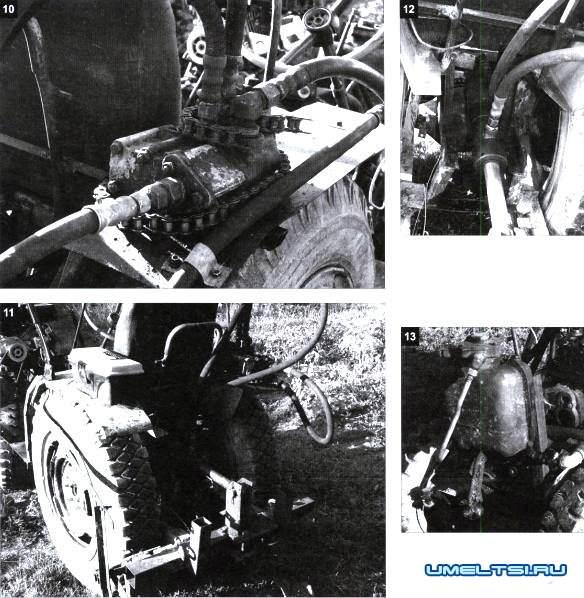 Делаем трактор на скорую руку фото