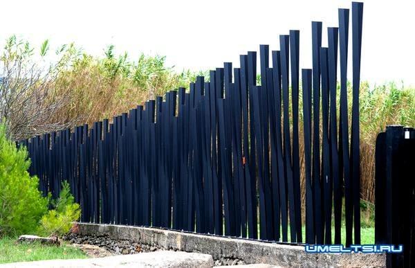 Оригинальный забор: фото 3