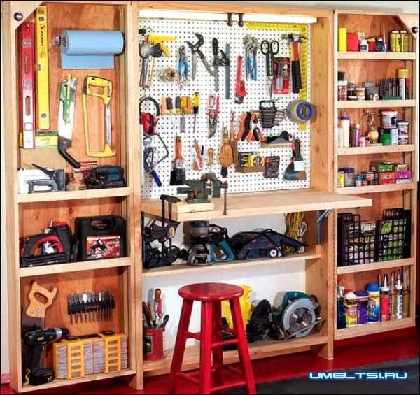 Как навести идеальный порядок в гараже фото 6