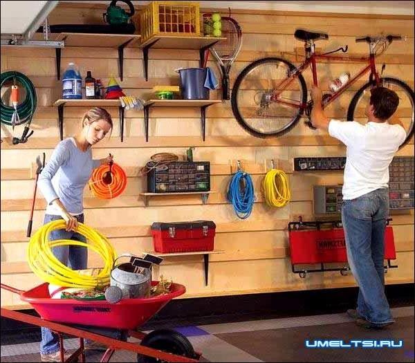 Как навести идеальный порядок в гараже фото 12