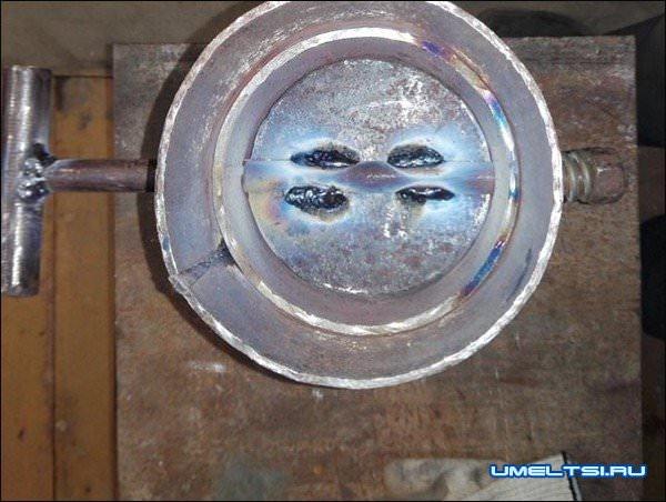 Печка в гараж своими руками-поэтапно