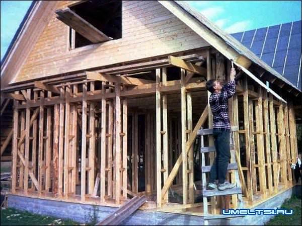 Быстрое строительство - строим каркасный дом