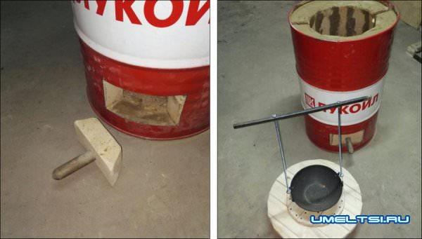 тандыр из бочки 200 литров -пошагово