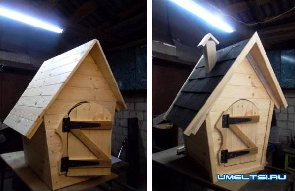 изготовления коптильного домика