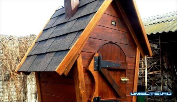 готовый коптильный домик