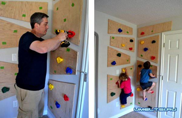 Как построить скалодром своими руками