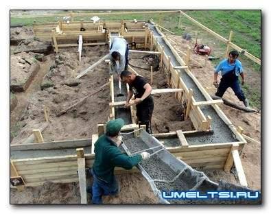 Ленточный фундамент своими руками - советы строителя