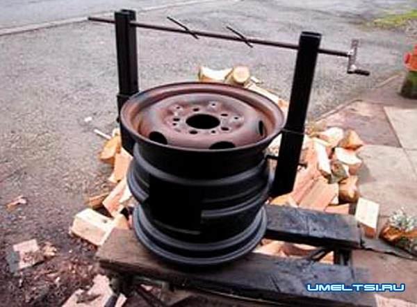 Идеи как создать своими руками из автомобильных дисков