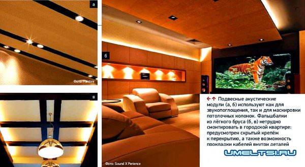 Акустические потолки