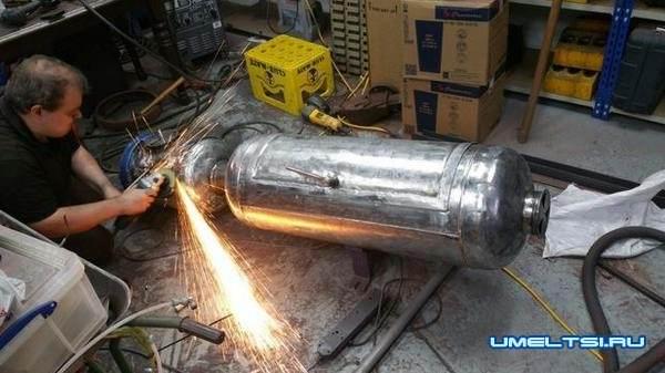 Коптильня из газовых баллонов своими руками