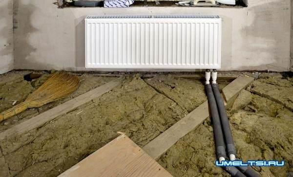 Отопление частного дома своими руками-разводка труб