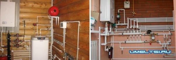 Отопление частного дома своими руками-из чего состоит