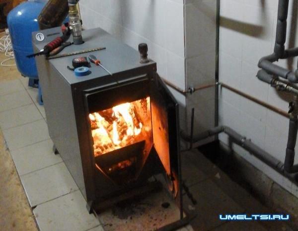 Отопление частного дома своими руками-установка котла