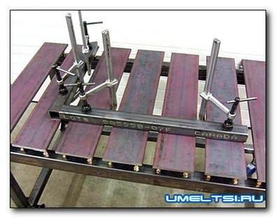 Изготовление сварочного стола своими руками