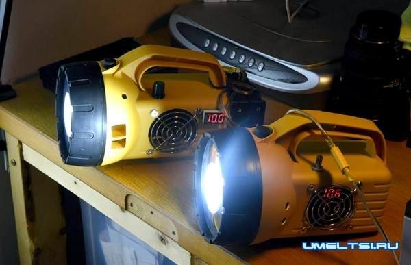 Мощный светодиодный фонарь своими руками-поэтапно