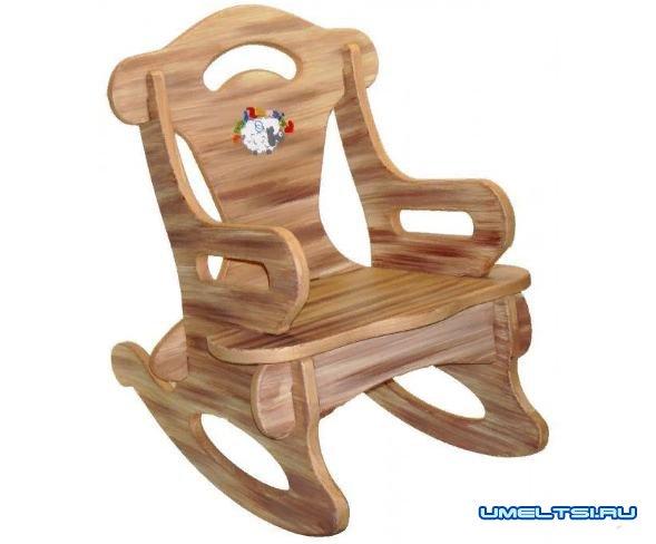Самодельное разборное кресло-качалка