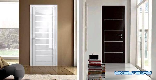 Разновидность межкомнатных дверей: Профиль Дорс