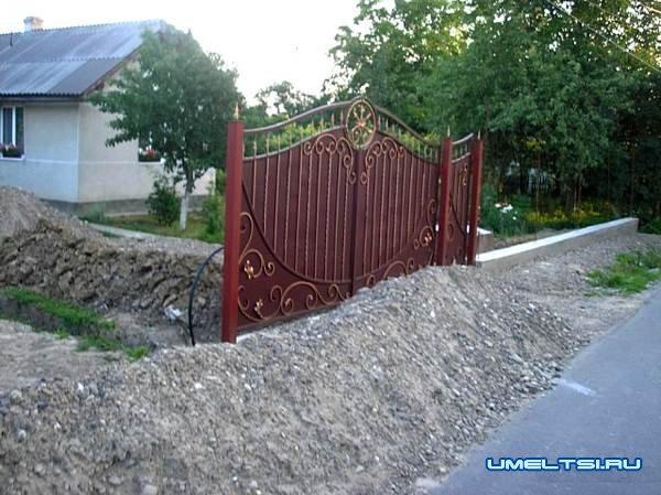 Забор для частного сектора