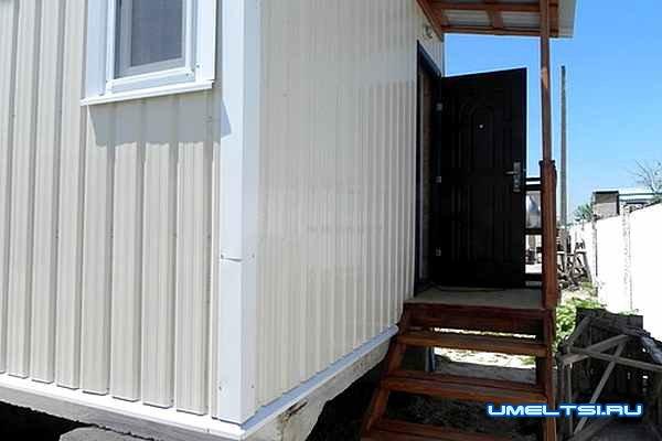 Как построить домик для отдыха за 12 дней