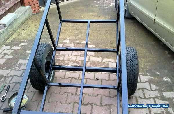 Прицеп для квадроцикла фото 4