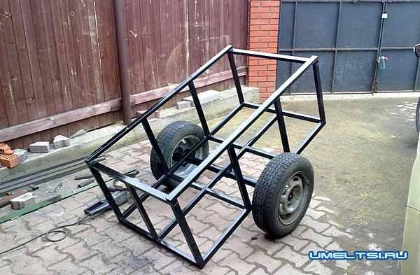 Прицеп для квадроцикла фото 3