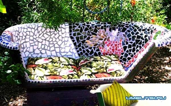 Уголок отдыха: садовая мебель