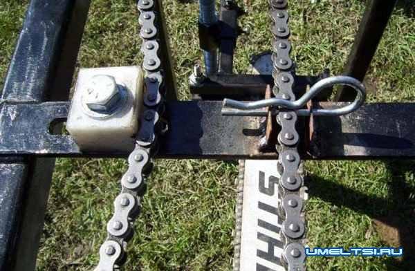 Самодельная пилорама из бензопилы-поэтапно