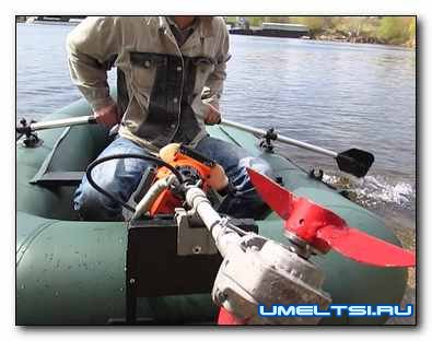 Самодельные лодочные моторы