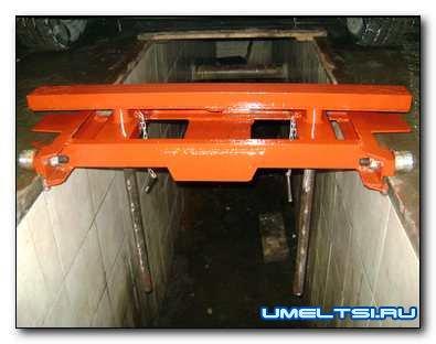 Подъёмник в гараж траверса на смотровую яму своими руками