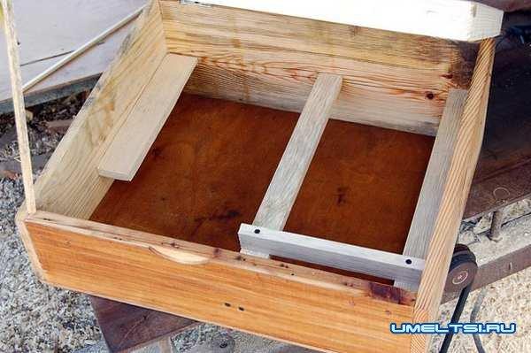 Солнечная воскотопка-изготовление, фото