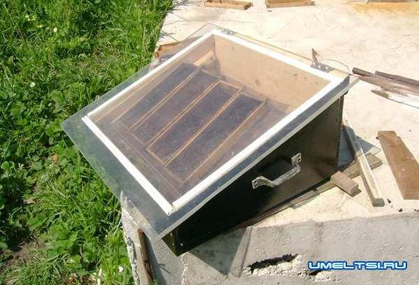 Солнечные воскотопки своими руками: фото