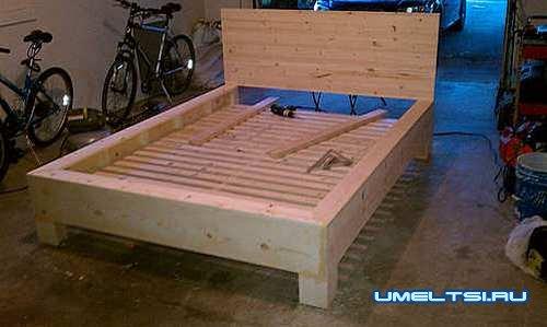 самый простой вариант кровати