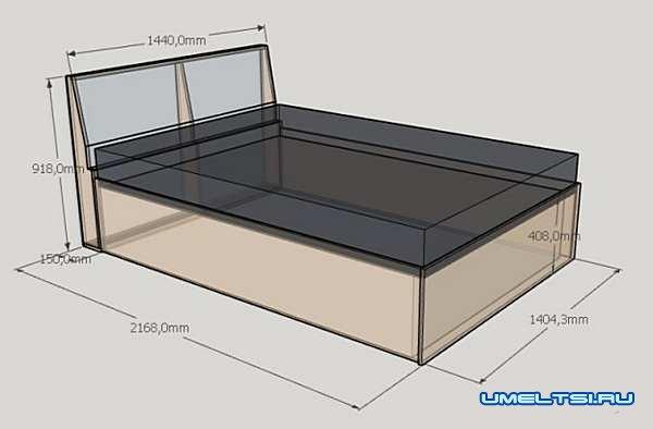 Подъемная кровать – этапы сборки