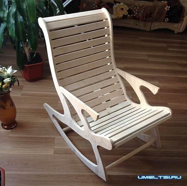 ход работ по изготовлению кресла