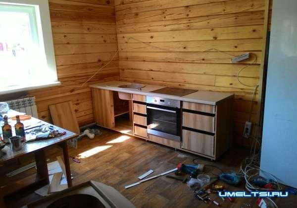 Изготовление кухонного гарнитура-фото
