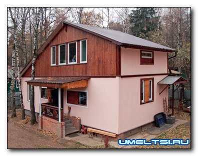 Строим дом из ОСП своими руками